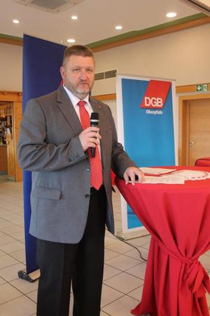KV Vorsitzender Klaus Schuster.