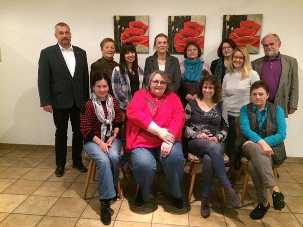 Mitglieder DGB Frauen-AK Oberpfalz