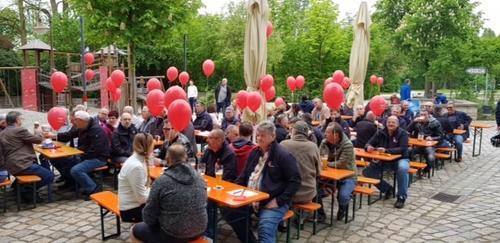 Kundgebung in Schwandorf