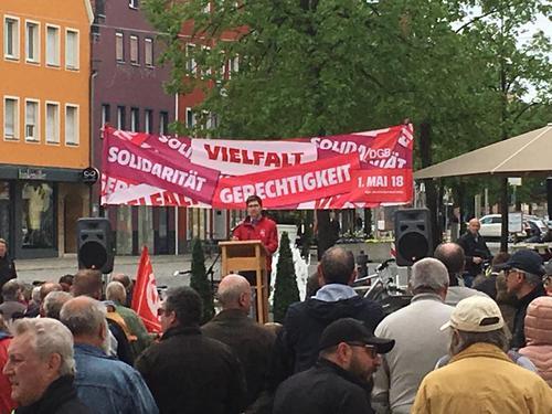 Kundgebung in Neumarkt