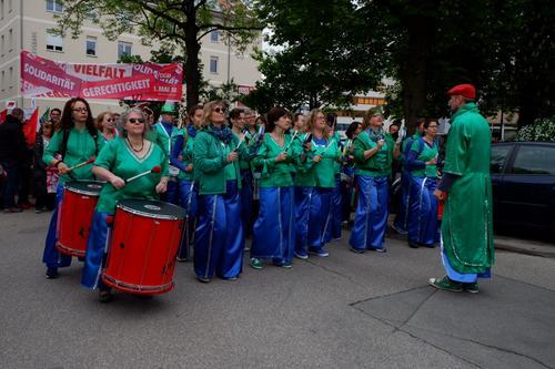 Kundgebung in Regensburg