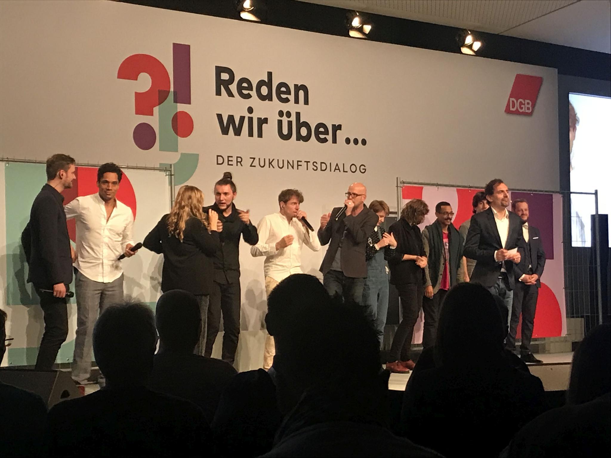 Der Zukunftsdialog in Berlin.