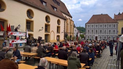 Kundgebung in Amberg