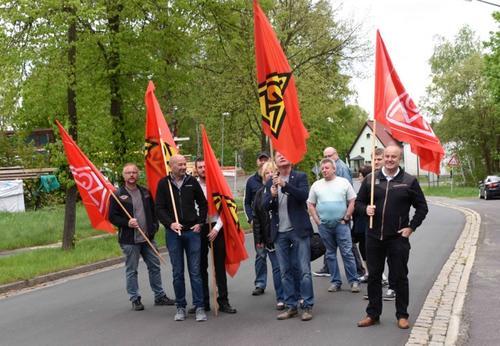 Kundgebung in Tirschenreuth