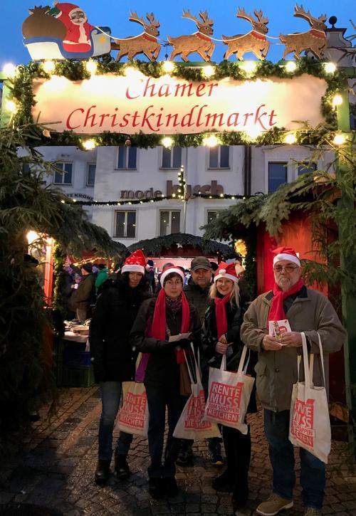 Weihnachtsaktion in Cham