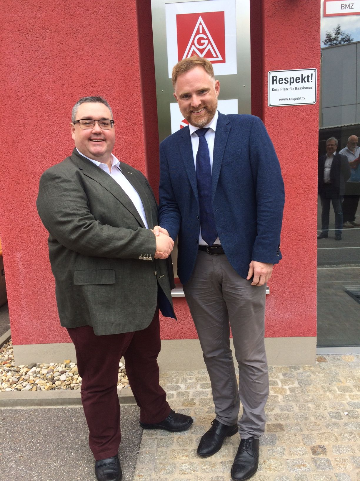 Christian Dietl und Peter Aumer