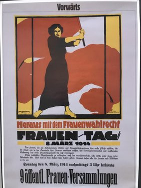 Plakat Frauen-Tag 8. März 1914